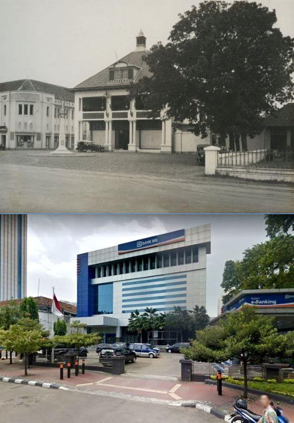 Bank Bri Jl Veteran Jakarta 1935 Indonesia Dunia Retro