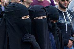 Niqabis in Sydney Australia
