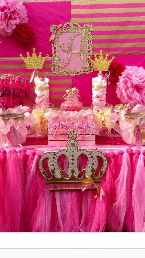 Pink & Gold Birthday Party Ideas   Photo 1 of 10   Catch My Party