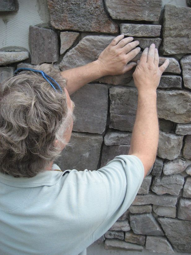 How to apply stone veneer siding