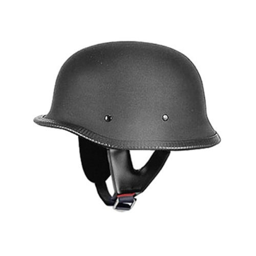 German Helmets - DOT German Motorcycle Helmet 115 Matt $39.95