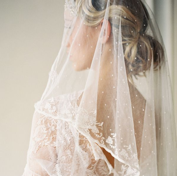 Vintage Wedding Veils...the dots!!