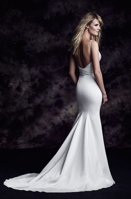 Paloma Satin Wedding Dress - Style #4603 | Paloma Blanca