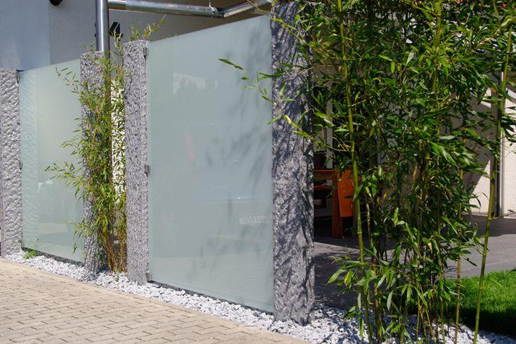 Neben dem Haus Sichtschutz garten, Gartensichtschutz, Garten