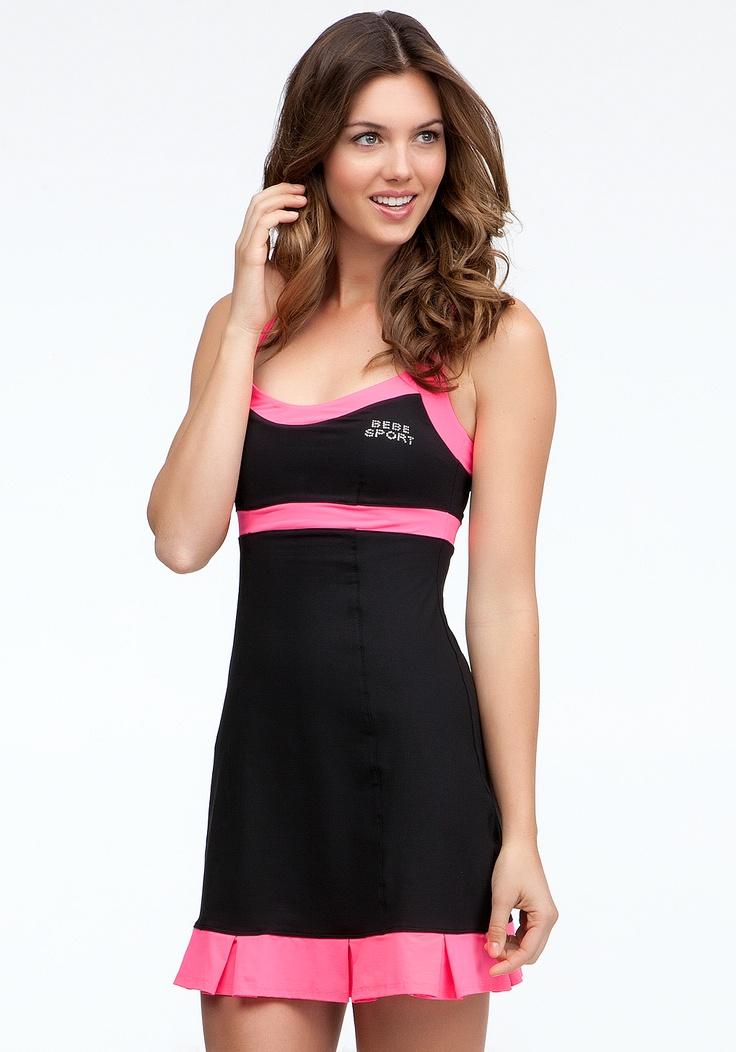 bebe Colorblock Tennis Dress *Online Exclusive*