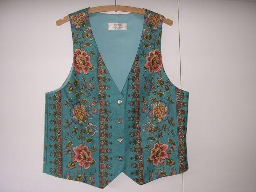 "Turquoise Persian Design Waistcoat 34"" - 36"""