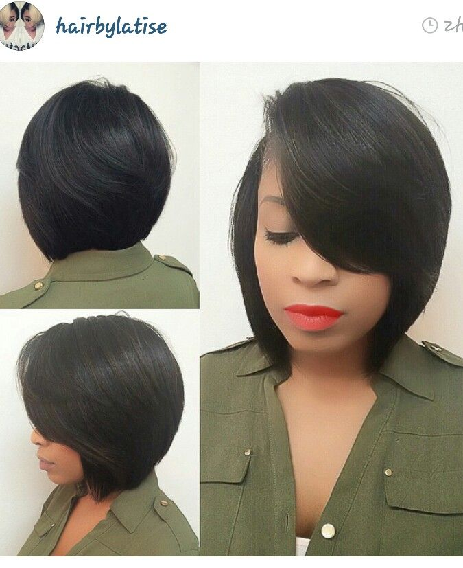 Bob Hairstyles For Black Hair 125 Best Bobs Of A Featherimages On Pinterest  Hair Dos