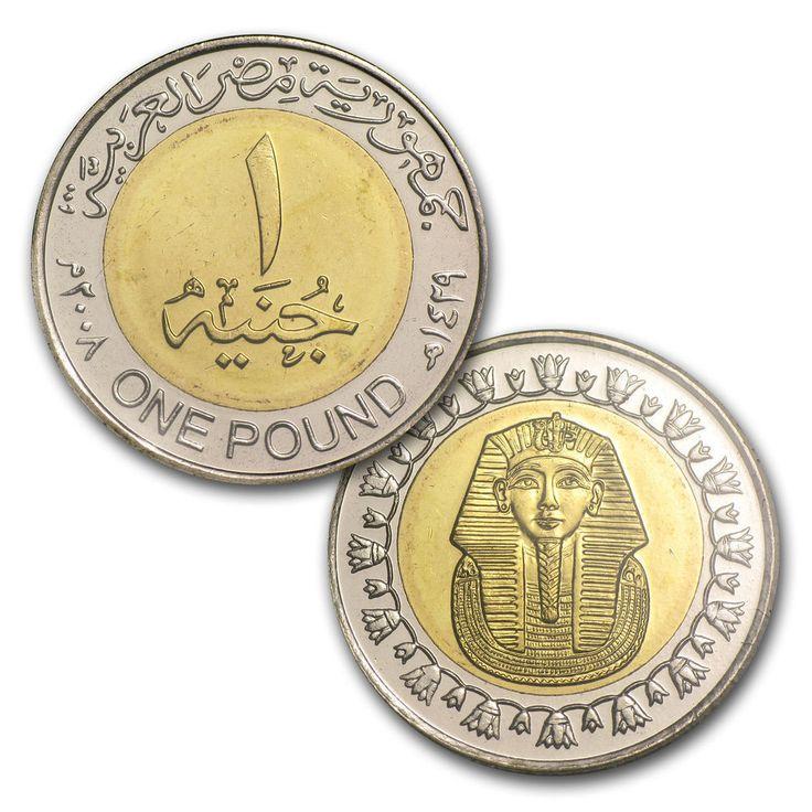 Original Antique Ancient Egyptian Pound Coin (King Tutankhamun Version) | Antiques, Antiquities, Egyptian | eBay!