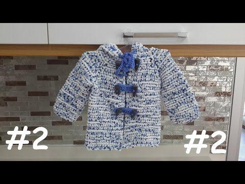 Kapşonlu Bebek Hırkası#1 - YouTube