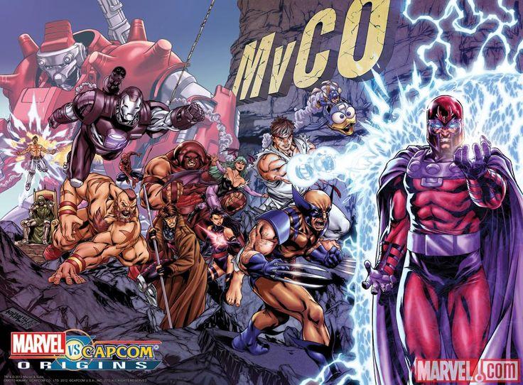 Marvel vs Capcom Origins
