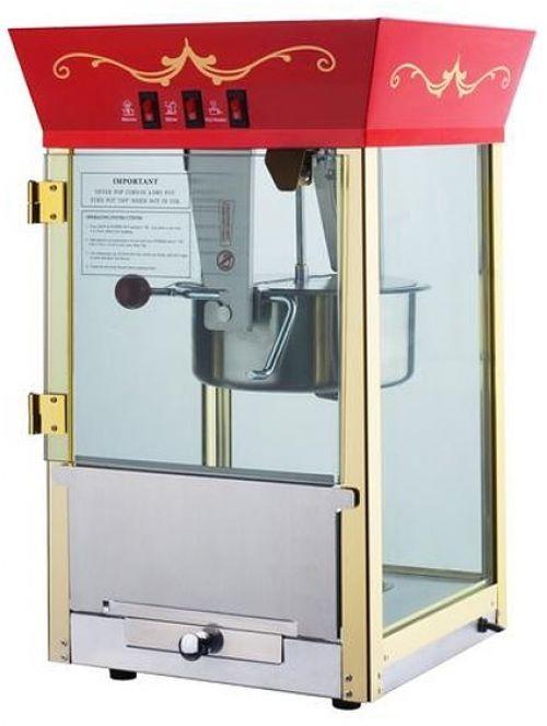 Red Matinee Movie 8-oz Antique Popcorn Machine Kitchen Home Popcorn Maker New #Red #Kitchen #Popcorn #Maker #Machine