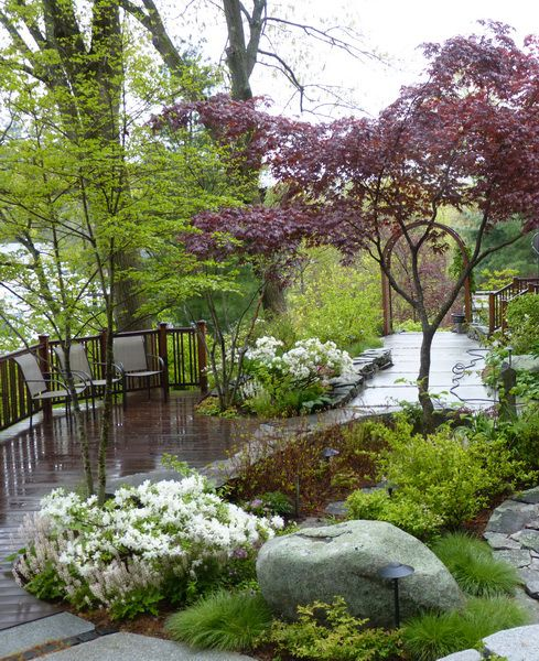 Image result for residential landscape design water feature
