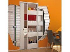 Controtelaio per porta scorrevole con contenitore BIGFOOT® + MAGIC BOX® - PROTEK®