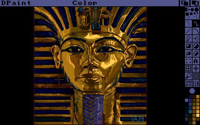 Deluxe Paint pharaoh