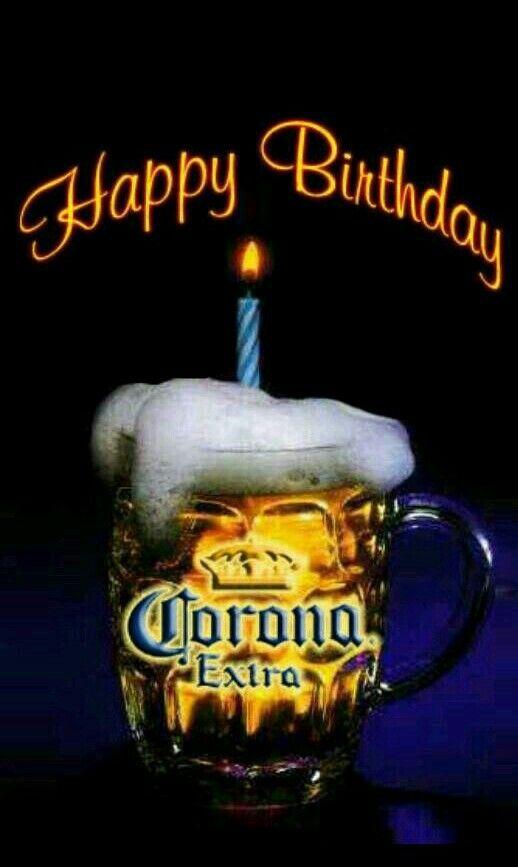 Сделать хорошую, с днем рождения картинка пиво