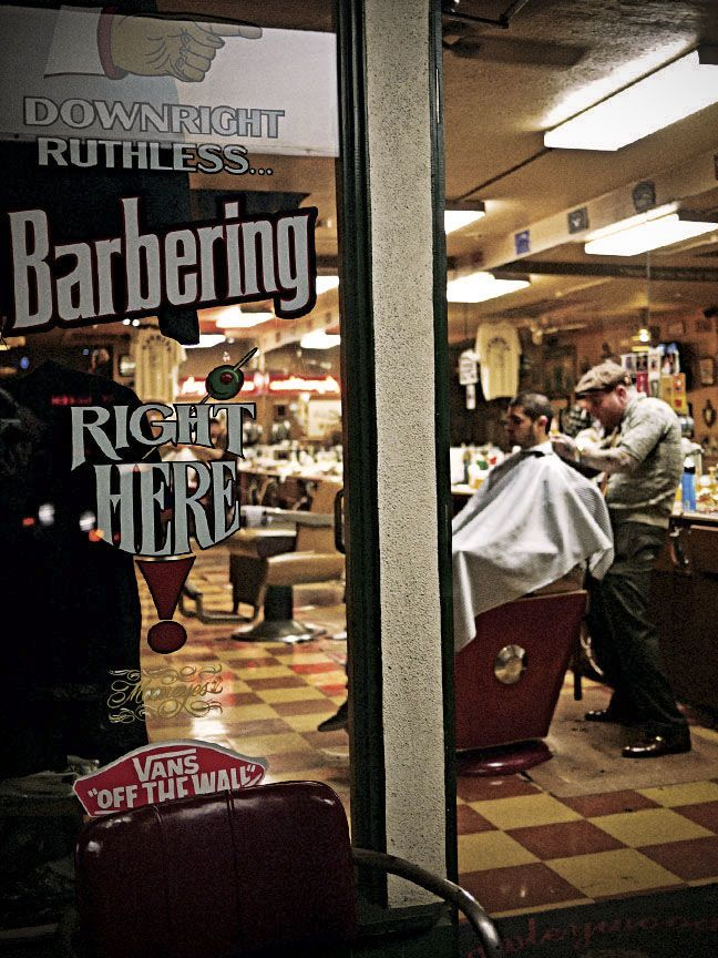 When was the last time you got a hot shave to shape up that beard?