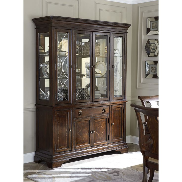 Legacy Classic Irving Park China Cabinet   China Cabinets At Hayneedle