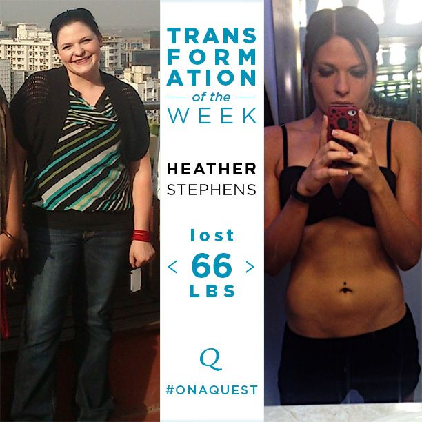 Look who was featured on Quest Nutrition's Transformation Tuesday Blog! Heather Stephens and her Eat More 2 Weigh Less success story! Quest Nutrition