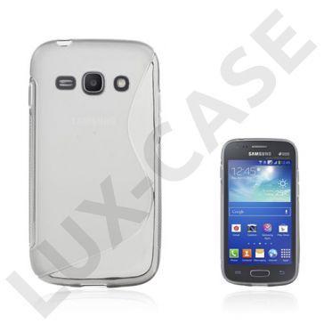 Lagerlöf (Gjennomsiktig Grå) Samsung Galaxy Ace 3 Deksel