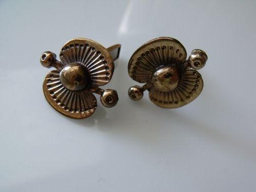 Kalevala Koru Seppo Tamminen 1960s Finland Bronze Cufflinks   eBay