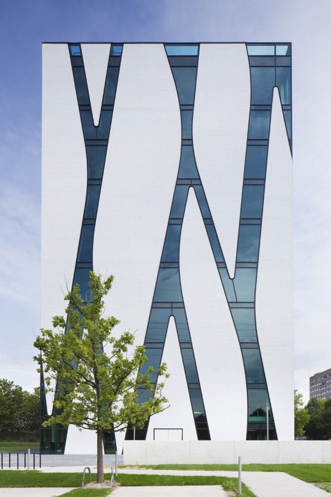 medical library oasis - dusseldorf germany - hpp architets + volker weuthen - photo by jens kirschner