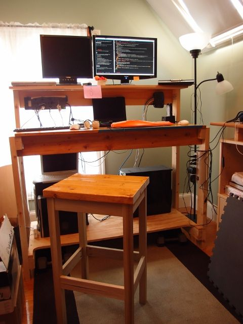 custom standing desk kidney shaped mid. 507 Best Standing Desks Images On Pinterest Desk Ideas And Office Custom Kidney Shaped Mid A