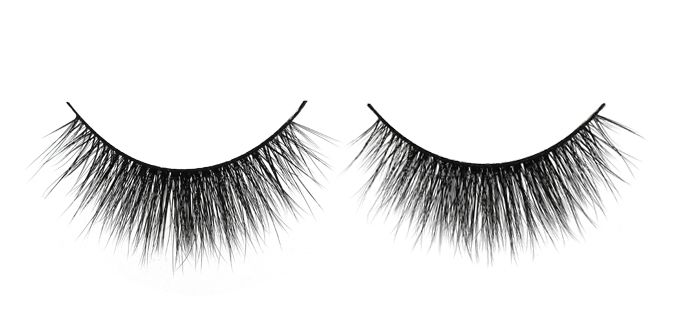 FAKE IT $30 FEMME FATALE 3D Angel Silk Strip Lashes Made of synthetic mellow fibres that mimic the texture of real mink fur. The thin and tapered fibres are placed in 2 layers on the soft lash band, giving the lash an emphasized fluffiness and feminine effect. Reusable up to 30 times 100% animal cruelty free Hand crafted Top quality