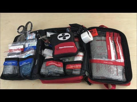 Surviveware LARGE First-Aid Kit: Well-Organized For A
