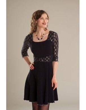 Robe/Dress Bourbon Vanille - KARKASS fashion designer. Mode québécoise / Made in Quebec