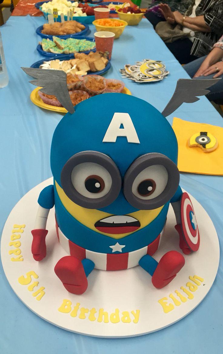 Die Besten 25 Captain America Kuchen Ideen Auf Pinterest