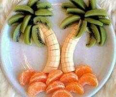 creatief met fruit