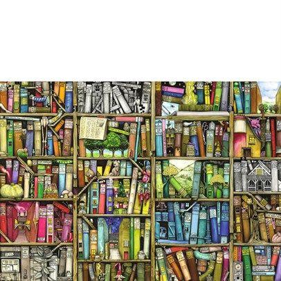 Ravensburger Rburg - The Bizarre Bookshop Puzzle 1000Pc $28.00