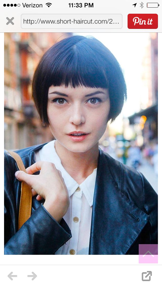 Sensational 1000 Images About Hair Beauty On Pinterest Cute Short Hair Hairstyle Inspiration Daily Dogsangcom