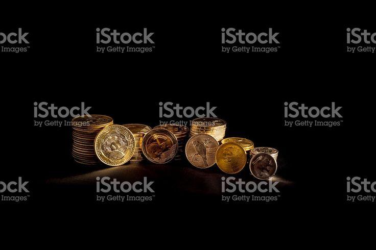Colombia - International Award Winning Coinage royalty-free stock photo