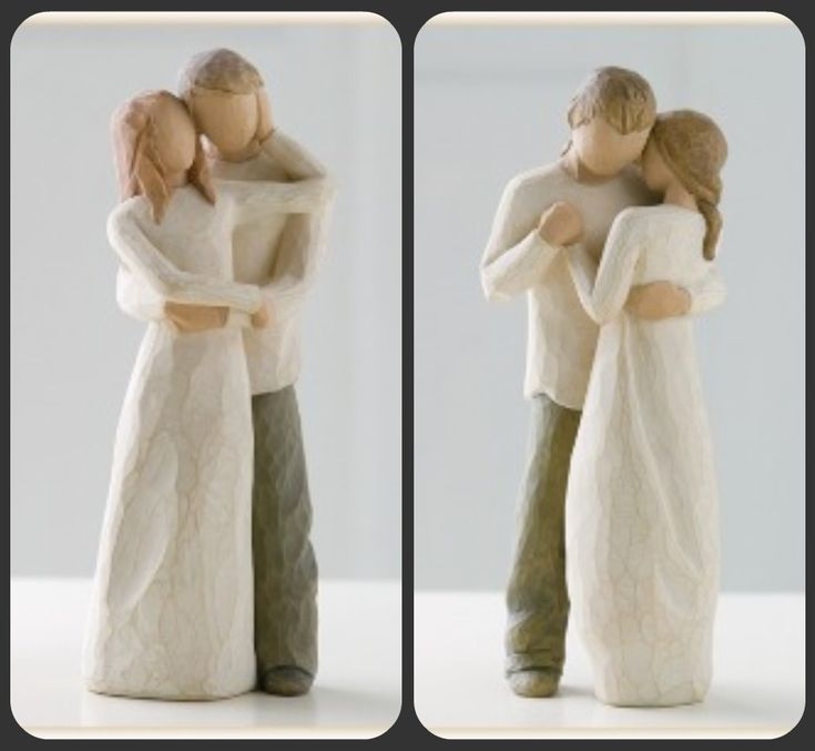 Willow Tree Cake Toppers @Pamela Hichens Sigmon , which do you prefer?