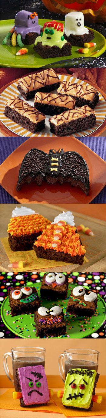Halloween Brownie Ideas & Recipes!