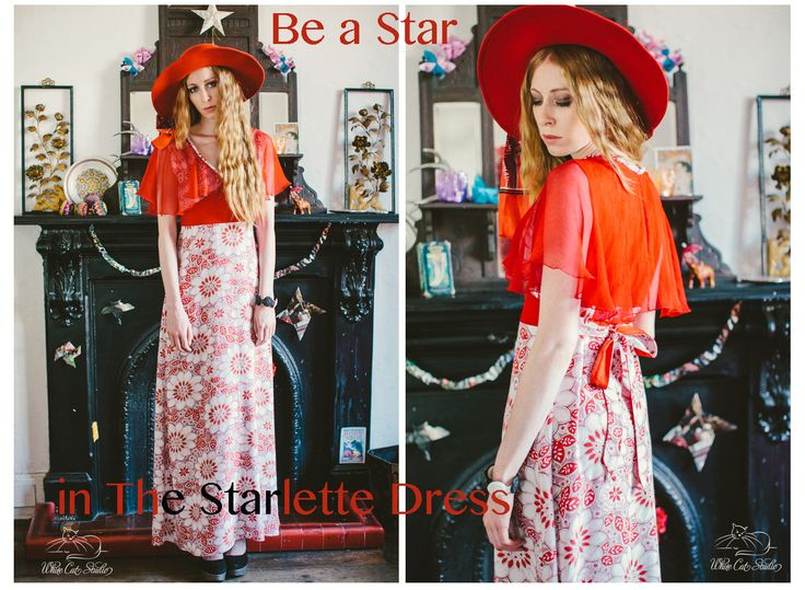 'The Starlette Dress' by Alice Halliday €220 SIZE 10