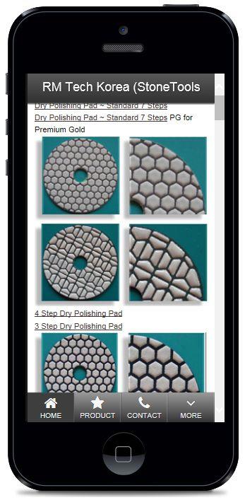 Diamond Tools Mobile Website