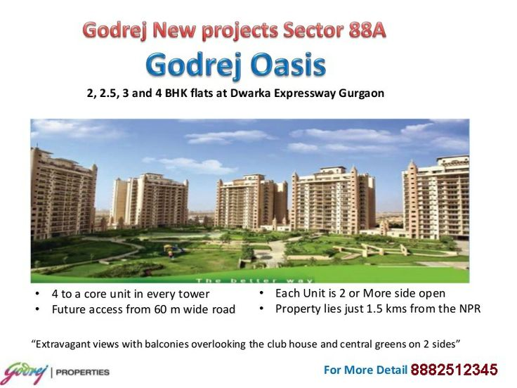Find  Godrej New Project New Residential Projects, Godrej New Project Builders New Residential Properties in Gurgaon, New Launches of Godrej New Project in Gurgaon and Godrej New Project Builders Upcoming Residential Projects | Call +91-8882512345 for Godrej New Project Projects""