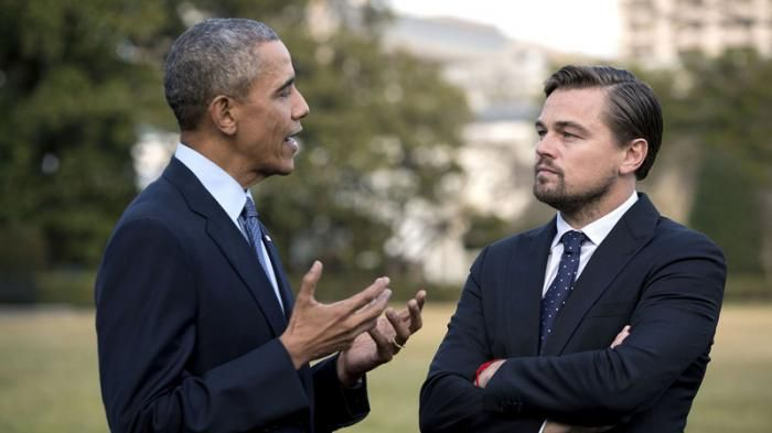 Ketika Presiden Obama Akan Bertemu Leonardo DiCaprio Bahas Perubahan Iklim - Tribunnews