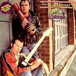 "Laverne & Shirley -- ""Lenny and the Squigtones""-1979 LP cover"