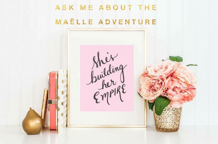 Ask me about the Maëlle adventure!!! #workfromhome #stayathomemom #workfromhomemom #networkmarketing #maellemafia #maellehannah #clickthelink