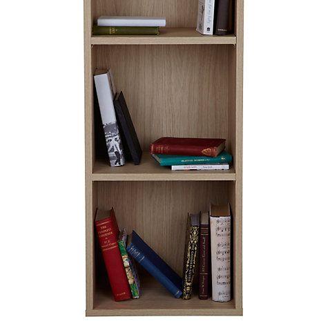 Buy John Lewis The Basics Dexter Tall, Narrow Bookcase Online at johnlewis.com