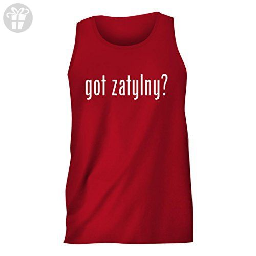 got zatylny? - Men's Comfortable Humor Adult Tank Top, Red, Small - Funny shirts (*Amazon Partner-Link)