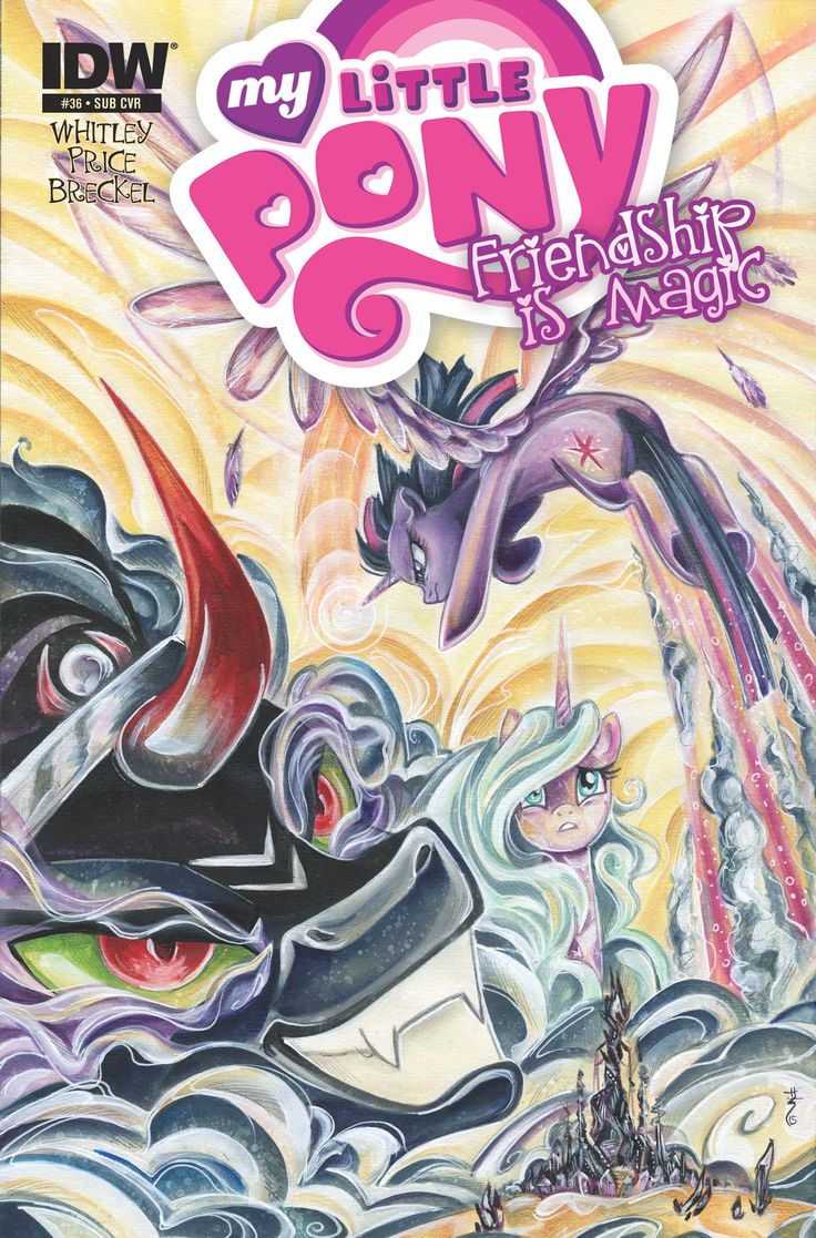 """""""Siege of the Crystal Empire"""" Part 3! A nefarious foe returns to full power to…"""