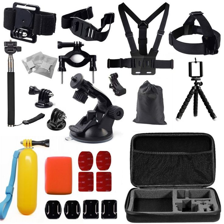 >> Click to Buy << HOT Gopro accessories set car bracket+Large bag+J-Hook+ Monopod+Floating Hand Grip for go pro hero 4 3+ SJCAM SJ xiaomi yi GS26 #Affiliate