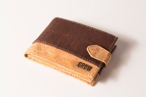 Vegan wallet for Men, Cork wallets, FREE SHIPPING, Handmade wallets, Eco wallet, Vegan Product, gift ideas, gift wallets, Made in Portugal