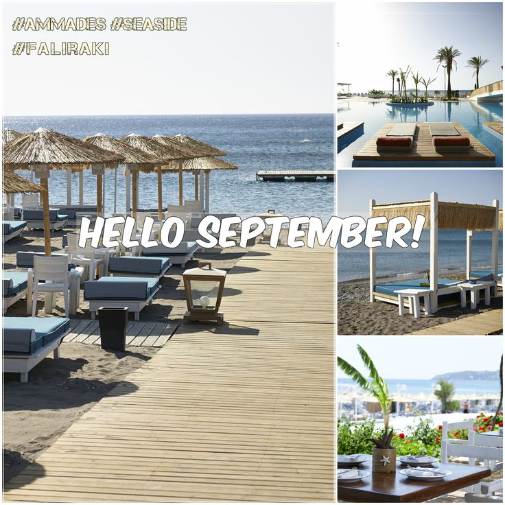 Kalo mina (happy new month) to everyone! ‪#‎Ammades‬ ‪#‎Faliraki‬ ‪#‎September‬ ‪#‎sunny‬