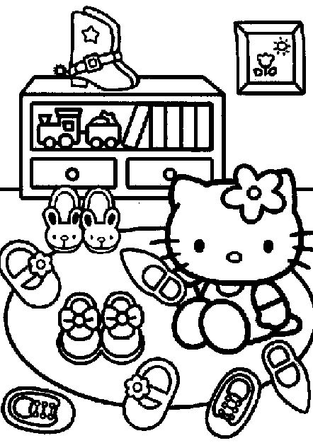 25 Best Ideas About Hello Kitty Colouring Pages