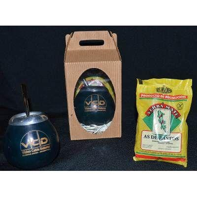 Souvenir Mates Personalizados Con Bombilla- Yerba - Estuche. - $ 50,00 en MercadoLibre